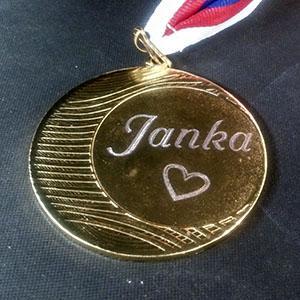 Medaile rytí