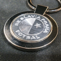 Klíčenka s rytím - Slavia