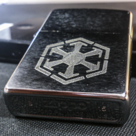 Zippo s rytím - Star Wars