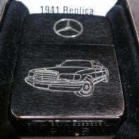 Zippo s rytím - Mercedes W126