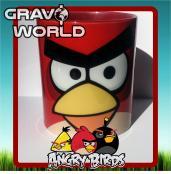 Hrnek s motivem - Angry Birds - červený ptáček