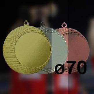 Medaile - Stříbrná