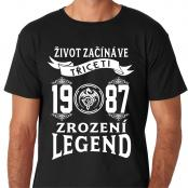 Tričko - Zrození legend