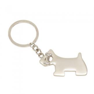 Klíčenka Pes - Stříbrná