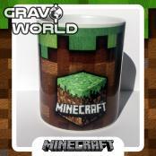 Hrnek s motivem - Minecraft Velká kostka