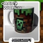 Hrnek s motivem - Minecraft Malá kostka a Creeper
