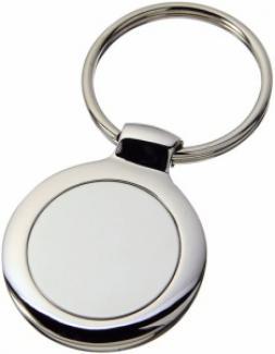 Klíčenka Kulatá - Stříbrná