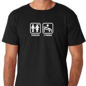 Tričko - Problém (Gym)