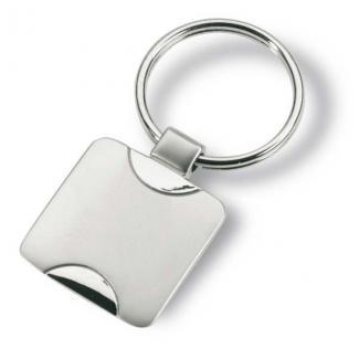 Klíčenka Simplis - Stříbrná